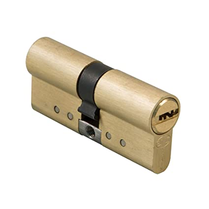 Amig 21538 Cilindro Alta Seguridad, laton mate 70 mm