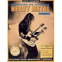 Partition : Methode de heavy metal livre I + cassette audio