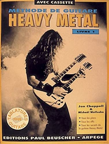 Partition : Methode de heavy metal livre I   cassette audio