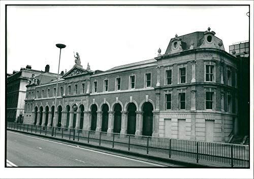 Vintage photo of London: Billingsgate Fish Market ()