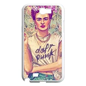 Samsung Galaxy Note 2 N7100 2D PersonFrida kahlozed Hard Back Durable Phone Case with Frida kahlo Image
