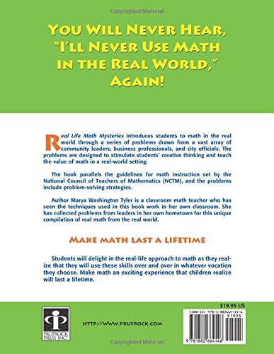 Amazon.com: Real Life Math Mysteries: A Kid\'s Answer to the Question ...