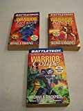 warrior trilogy complete set of 3 en garde riposte coupe