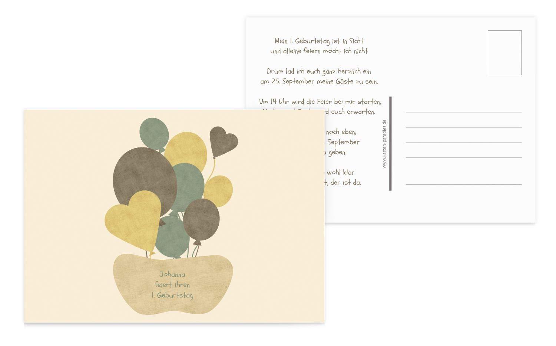 Einladung Airballoons, 60 Karten, Sonnengelb B07L19SC78 | Sale Online Shop  Shop  Shop  | Schenken Sie Ihrem Kind eine glückliche Kindheit  | Ausgezeichneter Wert  f1265d