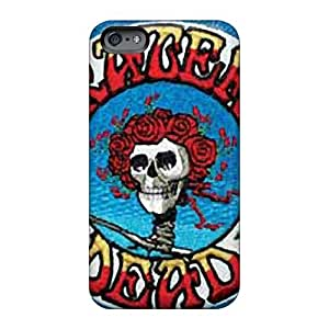 LauraAdamicska Iphone 6 High Quality Cell-phone Hard Cover Support Personal Customs Stylish Grateful Dead Pattern [usP8864wCXT]