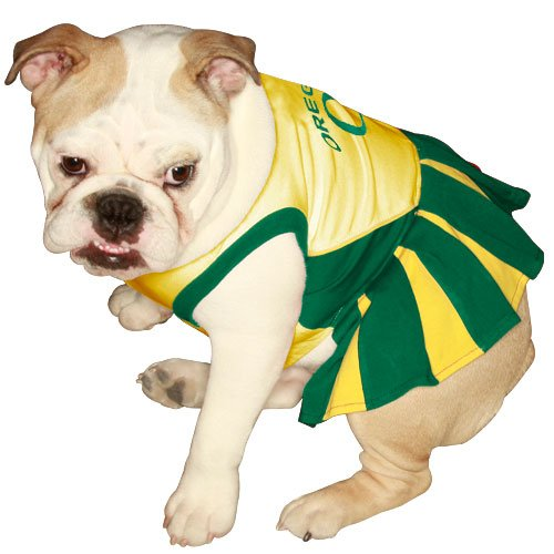M Pets First Oregon University Dog Cheerleader Outfit, Medium