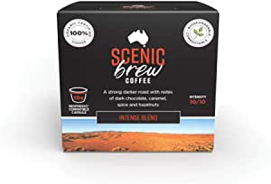 Scenic Brew, 3 packs of 10 pods (30 total), Intense Blend