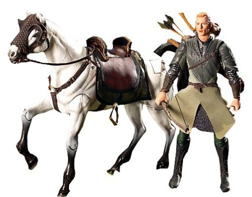 Lord of the Rings Legolas w/ Horse Deluxe