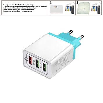 huicouldtool Cargador rápido Universal USB 18 W 3.0 5 V 3 A para ...