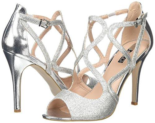 silver Plata Miss Mujer Zapatos Kg Saffron xwSqHX