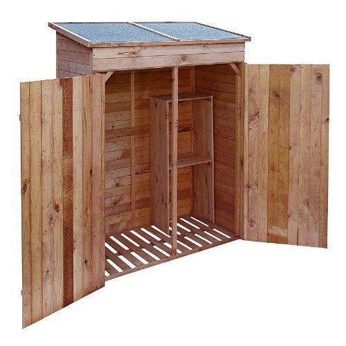 Armarios de madera para jardin affordable mueble muebles for Amazon muebles terraza