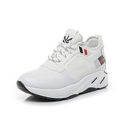 0fc34d02a3ace Amazon.com | Exing Womens's Shoes Fall Summer New Elasticity ...