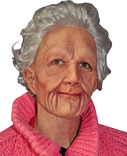 Zagone Studios Men's Supersoft Old Woman , Flesh, Adult One Size