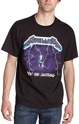 Men's Official Metallica Ride Lightning T-Shirt - S to XXL