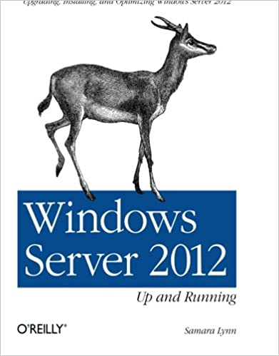 Installing Upgrading Up and Running Windows Server 2012 and Optimizing Windows Server 2012