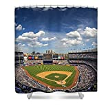 Pixels Shower Curtain (74'' x 71'') ''The Stadium''