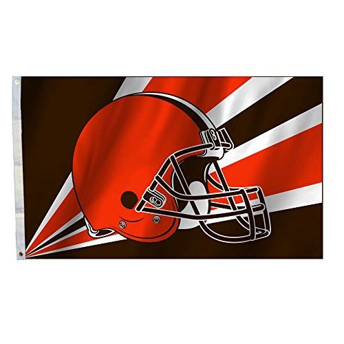 NFL Cleveland Browns 3 by 5 Foot Flag