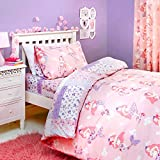 Bedlam - Mermaid - Childrens Duvet Cover Set | Single Bed Size | Pink Bedding