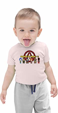 Borderlands 2 Character Sprites Organic Baby T-shirt 12 - 18