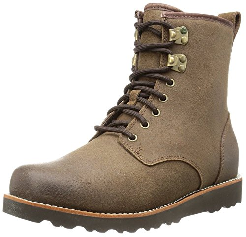 UGG Australia Men's Hannen TL Grizzly Leather Boot 8 M US