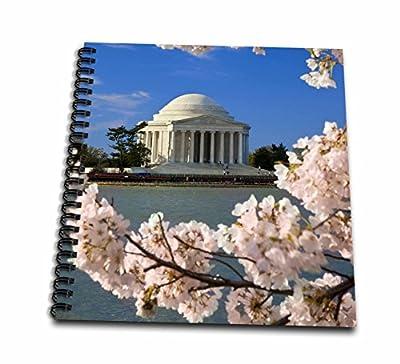 Danita Delimont - Washington DC - Cherry trees, Jefferson memorial, Washington DC USA - US09 BJN0013 - Brian Jannsen - Drawing Book