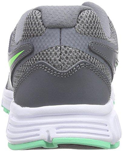 NikeRevolution EU - Zapatillas de Entrenamiento Mujer Grau (Cl Grey/Vltg Grn-Grn Glw-White)