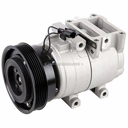 AC Compressor & A/C Clutch For Hyundai Tiburon 2003 2004 2005 2006 2007 2008 - BuyAutoParts 60-01666NA NEW ()
