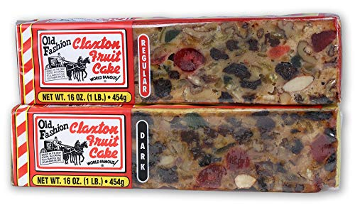 Claxton Fruit Cake Regular-Dark Sampler Pack