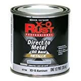True Value XO10-HP Aluminum Premium X-O Anti Rust Enamel, 1/2-Pint