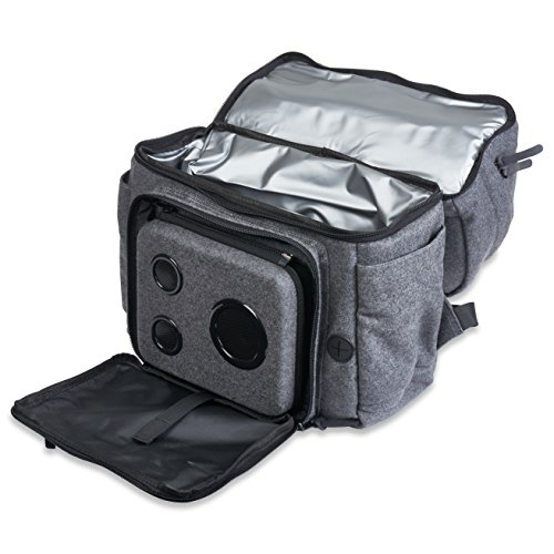 The Ultimate Rager: The Bluetooth Speaker Backpack Cooler. The Premium Cooler Backpack With
