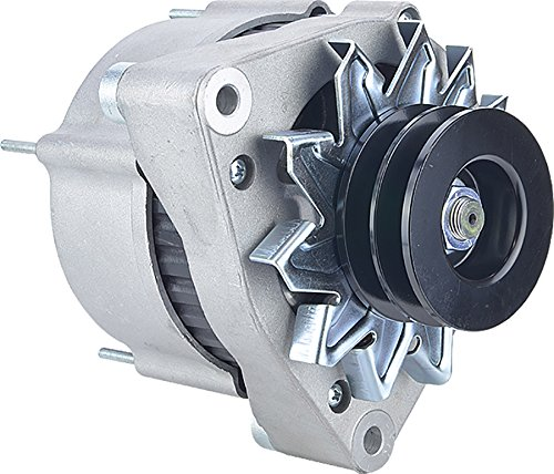 New DB Electrical 400-24145 24V 80A Alternator for TIMBERJACK Various 0.2083333333 Clock 80 amp External Fan Type Solid Pulley Type Internal Regulator CW Rotation 6033GB3045, 0120468146, 1181096