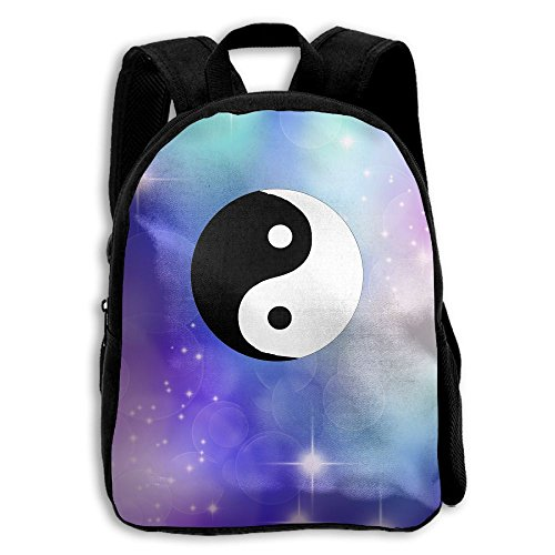 Chinese Yin Yang Tao Symbol School Backpack Children Printed Oxford Fabric Backpack - Circus Oxford 3 Store
