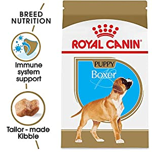 Royal Canin Breed Health Nutrition Boxer Puppy Dry Dog Food 9