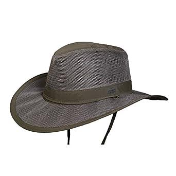 Conner Hats Men's Airflow Light Weight Supplex Outdoor Hat Y1020-Khaki