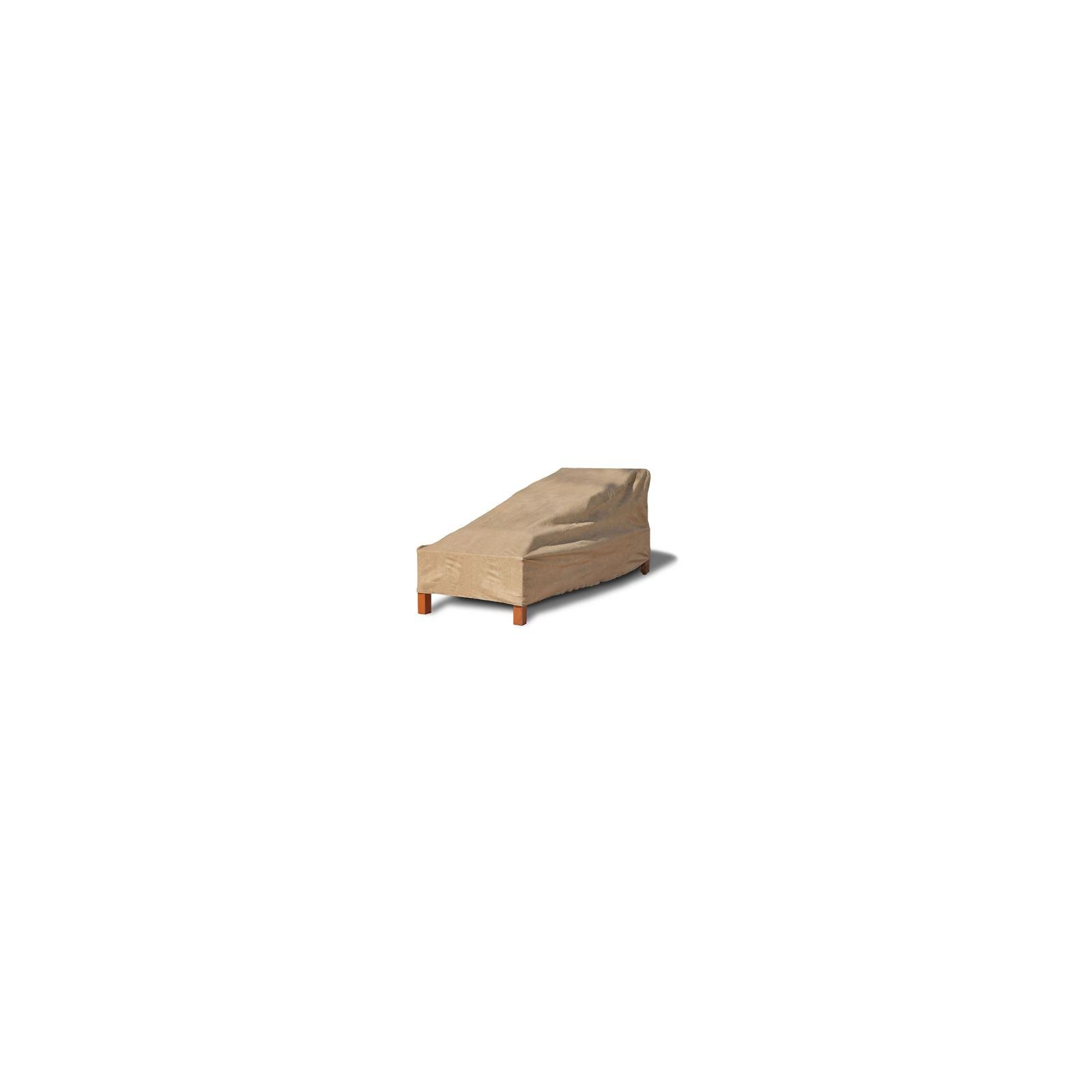 Budge Chaise Lounge Cover 80'' L X 27'' W X 30'' H Sand Polyethylene