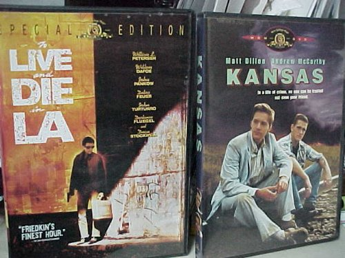 To Live and Die in L.A. , Kansas : Widescreen Crime Drama 2 Pack Collection