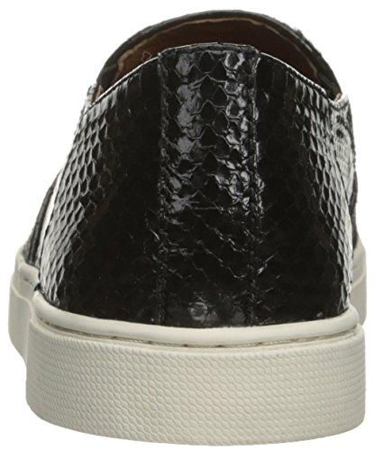 Zapatilla de deporte Gemma Block Slip Haircalf para mujer, pantorrilla / serpiente de pelo negro, 8.5 M US