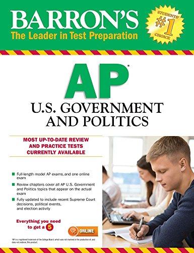 Barron's AP U.S. Government and Politics, 10th Edition cover