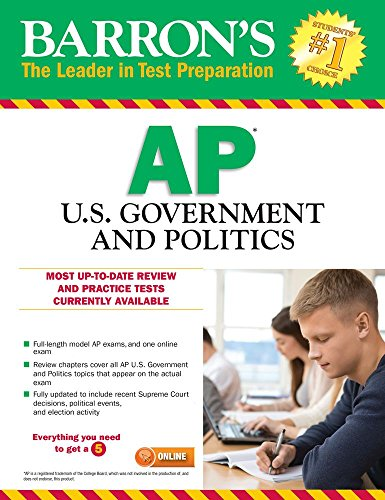 Barron's AP U.S. Government and Politics, 10th Edition