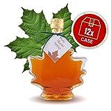 Maple Syrup Large Maple Leaf, 12 x Bottles Case, 250ml (8oz)