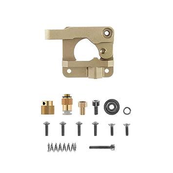 Xigeapg Piezas De La Impresora 3D para Mk8 Cr10 Extrusor Bloque De ...
