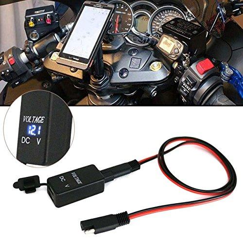 TKSTAR 12 V/24 V Dual USB adaptador de cable toma de ...