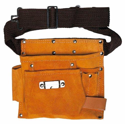 beige Maurer 80948/Sac /à outils de charpentier 2/poches et 2/fentes