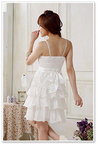 PLAER Frau Sexy Süß Prinzessin Kuchen Kleid Hochzeitsbrautjunfer ...