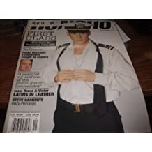 Honcho Adult Men's Gay Magazine November 1998 First Class Top Men & Versatile Pick-Ups