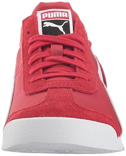 Puma Roma Og Nylon Fashion Sneaker Barbados Cherry