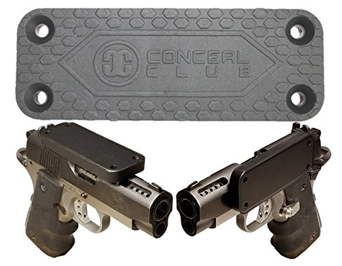 c Gun Mount for Vehicle And Home - Rubber Coated 43 Lbs Rated - Magnetized Holder For Handgun, Revolver, Pistol, Rifle, Shotgun, Tools - Use In Truck, Car, Desk, Wall, Safe, Closet (Large Double Action Knife)