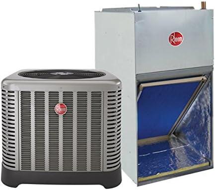 Amazon Com Rheem Ruud 2 5 Ton 14 Seer Air Conditioning System Ac Only Ra1430aj1na Rf1p3024spanjan00 Home Kitchen