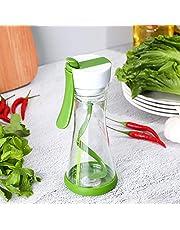 Lsghome Salad Dressing Mixing Cup, Creative Manual Plastic Dressing Mixer Blender, Salad Dressing Mixer Plastic Blending Mixing Cup