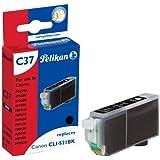 Pelikan C37  Cartouche compatible pour Canon CLI 521 9ml Noir